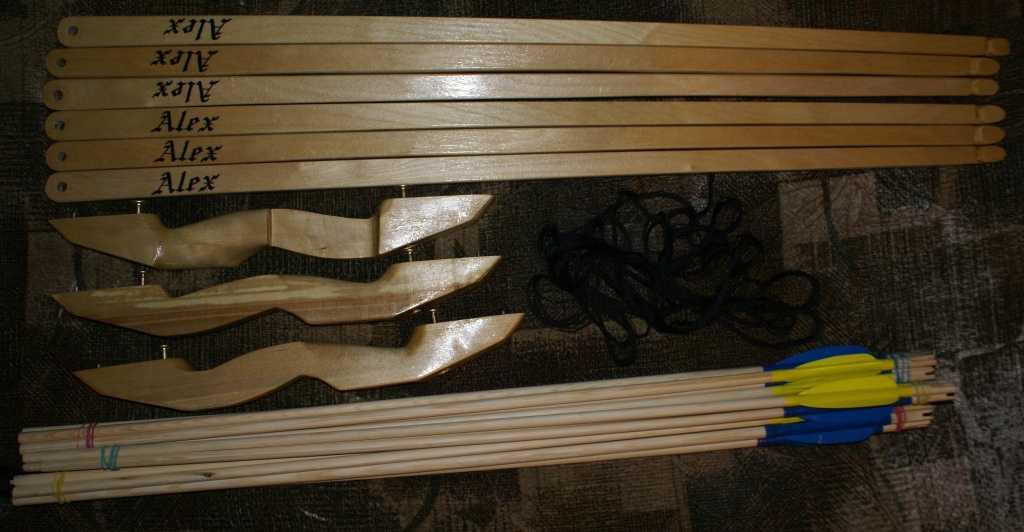 Как изготовить лук своими руками